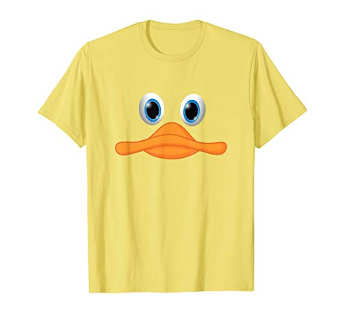 Duck Face Halloween Easter Costume T-Shirt - Men Women Kids -