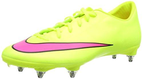 Nike Mercurial Victory V SG Herren Fußballschuhe Gelb (Volt/Hyper Pink-Black 760)