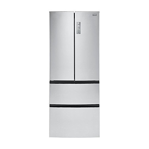 Haier HRF15N3AGS 14.97 cu. ft. 4 Door French Door Freezer/Refrigerator, Stainless Steel