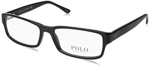 Polo Eyeglass Frames PH2065 5284-54 - Matte Black - Black Glasses Frames Matte