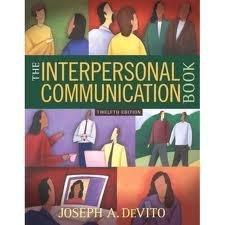 Interpersonal Communication Book Pdf