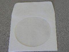TYVEK CD SLEEVE W/WINDOW & FLAP, JS88 500 PCS/CS Tyvek Cd
