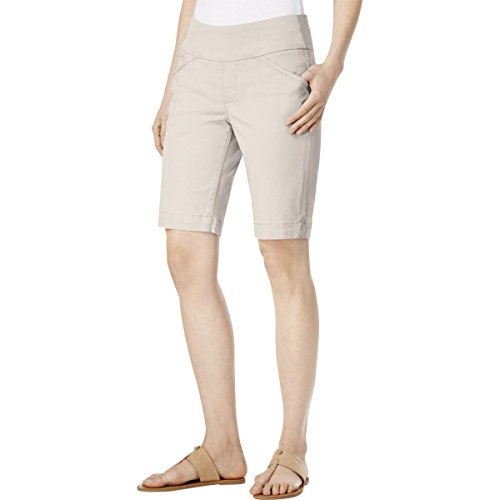 Jag Jeans Women's Ainsley Pull on Bermuda Short, Stone, 16 ()