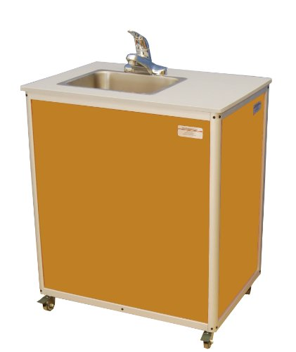 Monsam Preschool And Childcare Single Basin Portable Sink 27 Length X 18 Width X 30 1 4 Height
