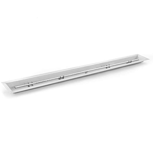 (Lakeview Outdoor Designs 72-Inch Linear Drop-in Pan with 60-Inch Natural Gas T-Burner)