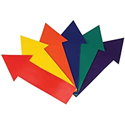 American Educational 6 Piece Poly Vinyl Straight Arrow Marker Set