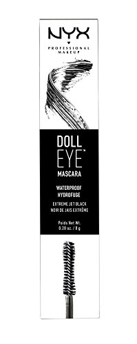 Nyx - Mã¡scara de pestañas doll eye waterproof professional makeup: Amazon.es: Belleza