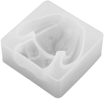 金型 モールド シリコン 石鹸 樹脂アート ジュエリー 作り ホビー用工具 DIYツール 全4種類 - 心臓