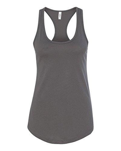 Next Level Apparel Women's Ideal Racerback Tank - Small - Dark Gray
