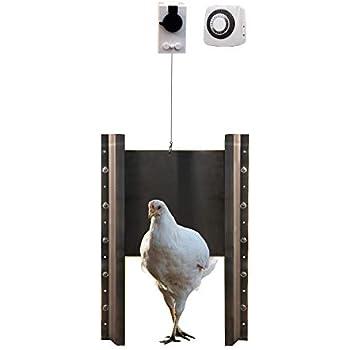 Amazon Com Add A Motor Chicken Coop Automatic Door