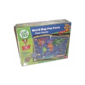 Amazon leapfrog world map fun facts 48pc floor puzzle toys leapfrog world map fun facts 48pc floor puzzle gumiabroncs Gallery