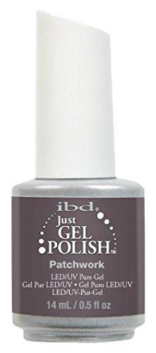 IBD Just Gel Polish, Patchwork, 0.5 Fluid Ounce by IBD