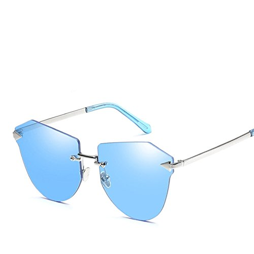 Gafas Color 1 Metal Sol De Nueva Marco Sin Gafas De Femenino De Sol Gafas Moda Sol 4 HAIHAI Tendencia Película De De De xF1Wzt