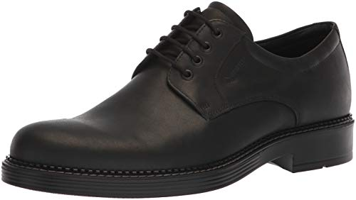 ECCO Men's Newcastle Gore-TEX Tie Oxford, Black, 44 M EU (10-10.5 US) ()