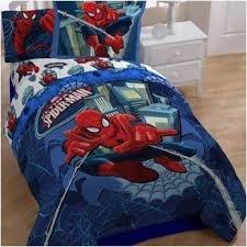 Amazon Com Spiderman Metro Bedding Full Comforter And