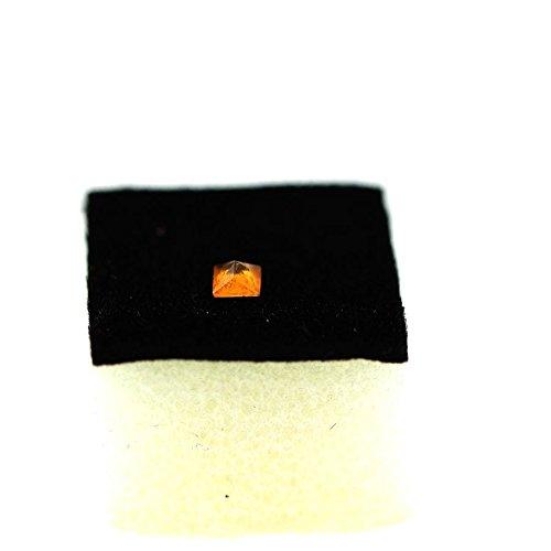 Clinohumite Orange . 0.19 cts . VS. Pakistan