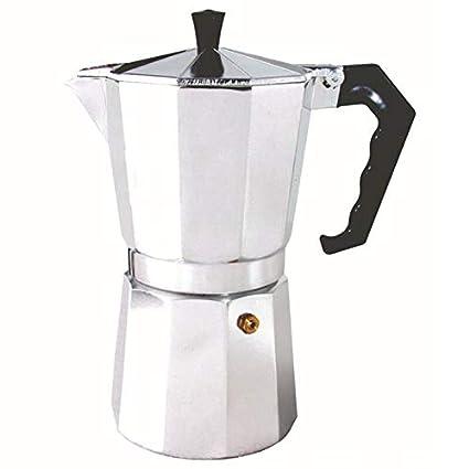 Amazon.com: Cafeteras de aluminio para el hogar con latte ...