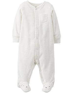 Unisex Baby Graphic Terry Footie (Baby)
