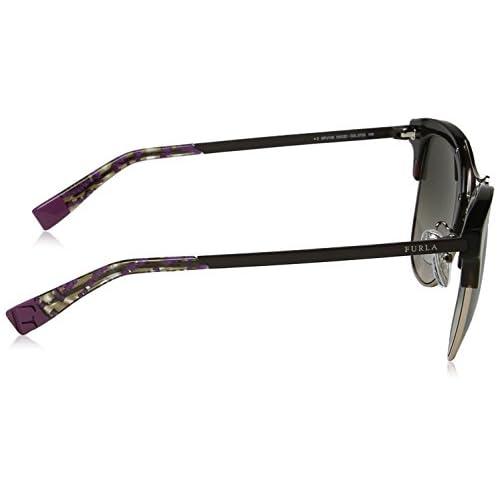 5ebf9a16cf Lovely Furla Eyewear, Gafas de Sol para Mujer, Multicolor (Shiny Dark  Havana)