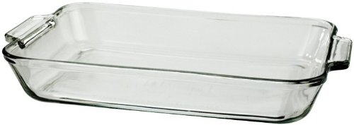 Dish Shaped Baking (Anchor Hocking 819380BL11 5 Qt Oven Basics Baking Dish)