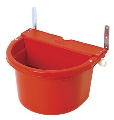 LITTLE GIANT FW16 Automatic Waterer, 16 Quart, Red