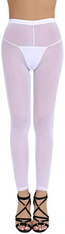 ACSUSS Footless Pantyhose Seamless Leggings product image