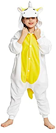 NEWCOSPLAY Unisex Kids Animal One-Piece Pajamas Cosplay Onesies Costume