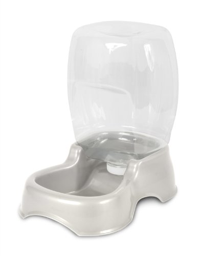 Petmate Cafe Waterer Pearl White