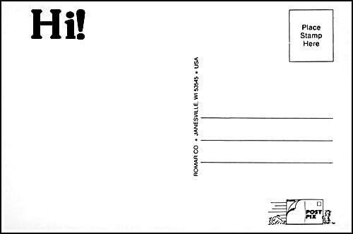 Post-Pix Peel /& Stick Photo Postcards by RomarHi