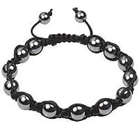 Men's Hematite Shamballa Bracelet
