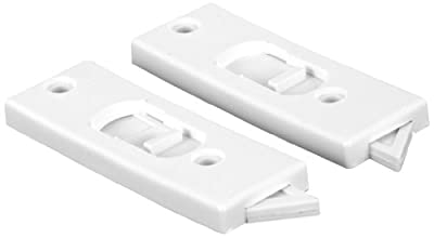 Prime-Line Products F 2599 Spring Loaded Sliding Window Tilt Latch, White, 1-Pair
