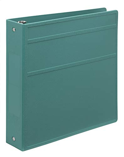 Heavy-Duty Medical Chart Binder, 3-Ring - Side Opening (Teal, 2 Inch)