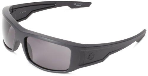 Spy Optic Colt Wrap Sunglasses,Matte Black,61 - Sunglasses Eyewear Spy
