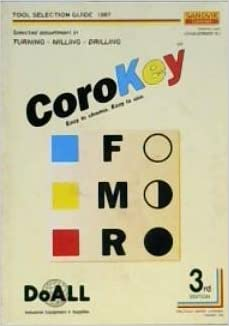 CoroKey Tool Selection Guide: Sandvik Coromant: Amazon com