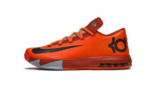 9a07f1280bf1 Nike KD VI (6) LAM Kids Shoes Total Orange 599477-800 (SIZE ...