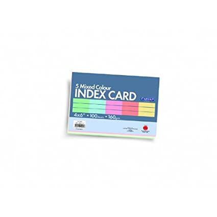 Index Cards X Muckgreenidesignco - 4x6 note card template