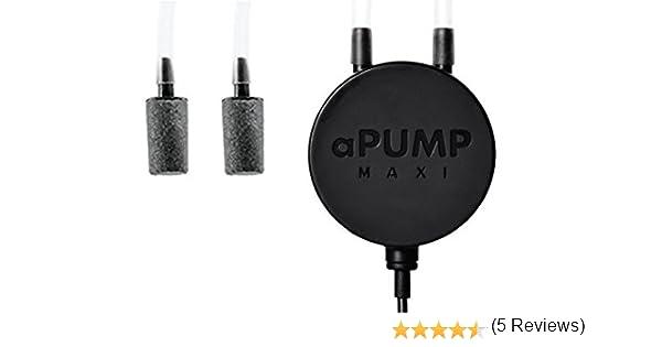 Bomba de acuario Collar aPUMP Maxi, con 2 salidas: Amazon.es: Productos para mascotas
