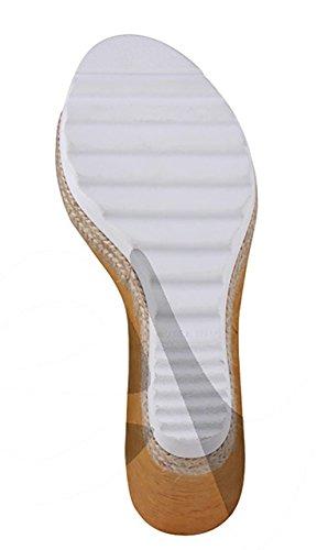 Myltho 187309 - Zapato Señora Piel - 37, Amarillo
