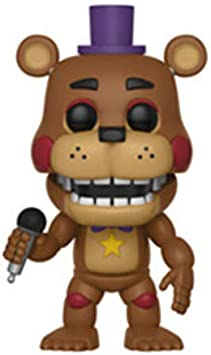 Pop! Five Nights At FreddyS - Figura de Vinilo Rockstar Freddy: Amazon.es: Juguetes y juegos