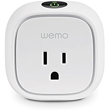 Wemo Insight Smart Plug with Energy Monitoring, Wi-Fi Enabled, Control Your Devices and Manage Energy Costs From Anywhere, Works with Alexa and Google Assistant