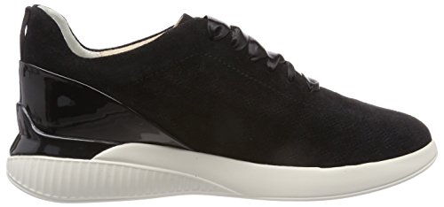 Geox Women's D Theragon C Low-Top Sneakers Black UvA4y8d6