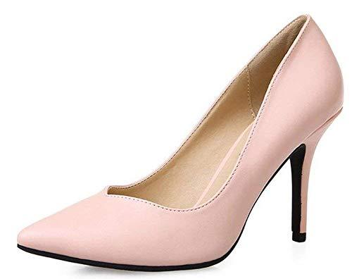 coloré Hauts Pink Taille Chaussures Pink 39 Talons Oudan À IBwnRqfZ