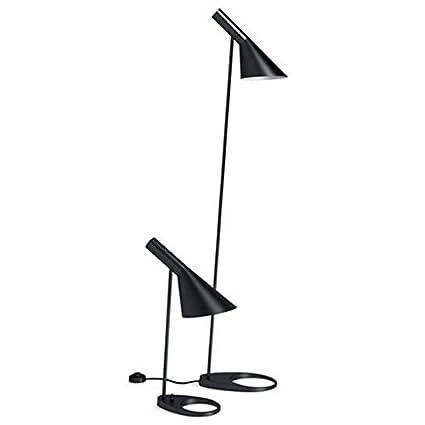Lámpara de pie JACOBSEN, réplica, negro