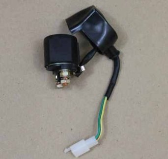 NEW STARTER SOLENOID RELAY 50cc 70cc 90cc 110cc ATV MINI QUAD PIT BIKE SUNL JCL (Smart Parts Solenoid)