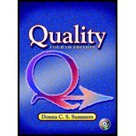 img - for Quality (4th, 06) by Summers, Donna C [Hardcover (2005)] book / textbook / text book