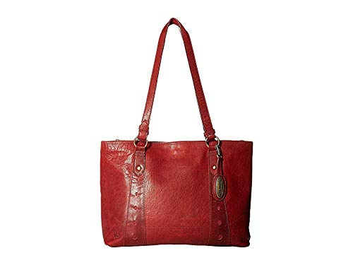 - Born Womens Mariah Tote Embossed Brocade Ruby One Size