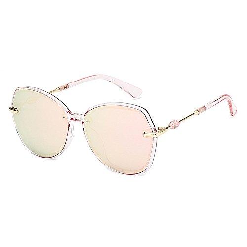 de sol de gafas de unisex de las personalidad de las ULTRAVIOLETA Retro sol polarizadas retro de sol y conducción la Gafas Protección Rosado de mujeres las para del marco de los sol Gafas la de gafas hombres Cvx5qwOpw