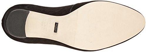 Scarpe Tacco Zs 16 black London Buffalo Nobuck Con Donna Nero 01 7166 wqSxFn6