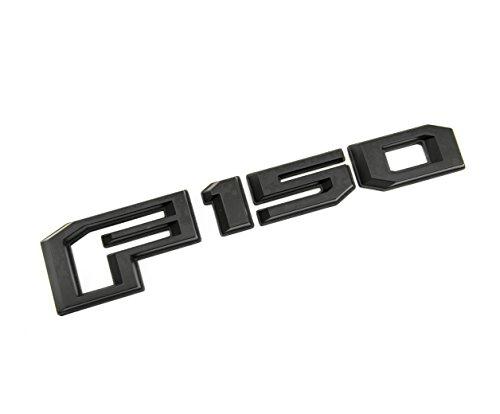 1 New Custom Matte Black 2015-2018 F150 Tailgate Badge Emblem