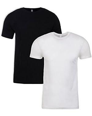 N6210 Shirt, Black + White (2 Pack), Small